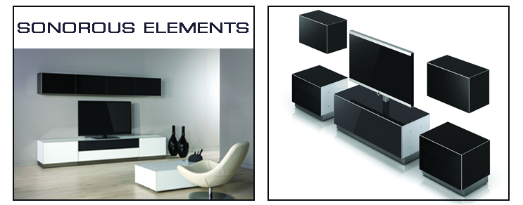 Sonorous TV furniture Elements